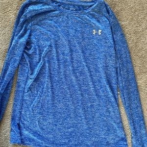 Under armor long sleeve work out shirt